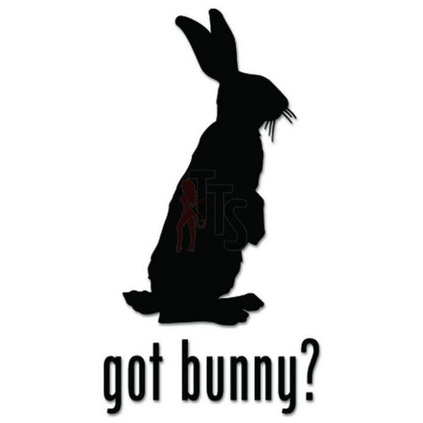 Got Bunny Rabbit Pet Decal Sticker