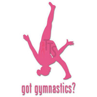 Got Gymnastics Gymnast Decal Sticker