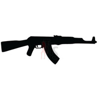 Soviet AK-47 Assault Rifle Decal Sticker