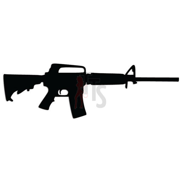 AR-15 Assault Rifle Decal Sticker
