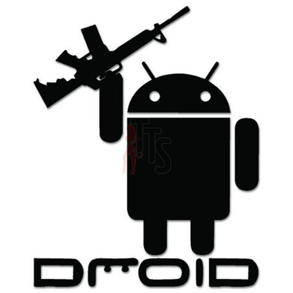 Droid Assault Rifle Decal Sticker