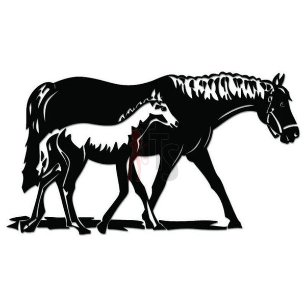Horse Foal Farm Decal Sticker
