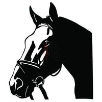 Horse Head Decal Sticker Style 6