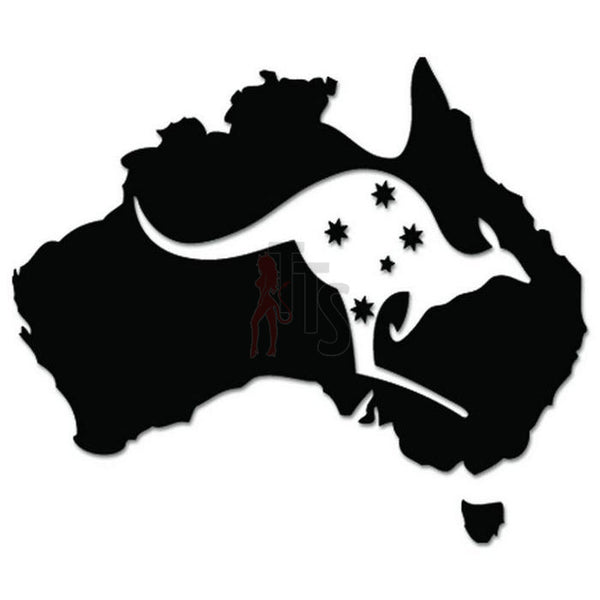 Southern Cross Stars Australia Decal Sticker