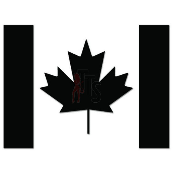 Canadian Flag Maple Leaf Decal Sticker