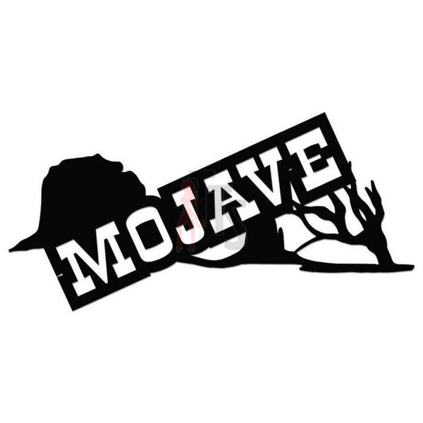 Mojave Desert Decal Sticker