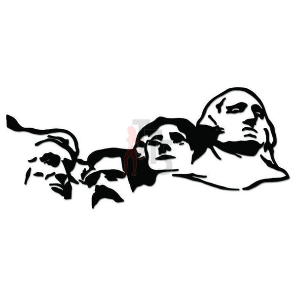Mount Rushmore USA Presidents Decal Sticker