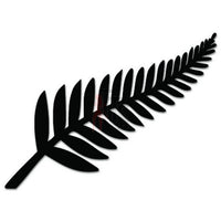 Silver Fern New Zealand Flag Decal Sticker