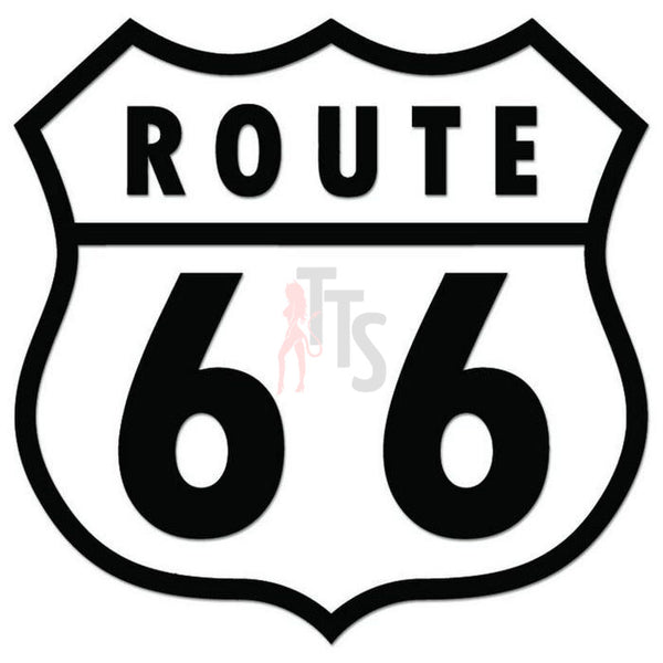 Route 66 Historic Highway Decal Sticker