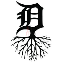 Detroit Roots Decal Sticker