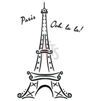 Paris Eiffel Tower Decal Sticker