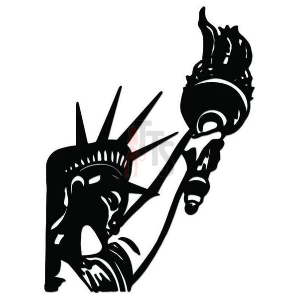 Statue of Liberty New York Decal Sticker Style 1