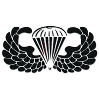 Airborne Paratrooper Parachuting Military Decal Sticker