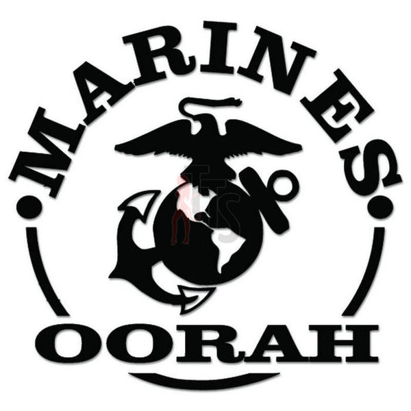 US Marines Oorah Military Decal Sticker