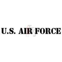 U.S. Air Force Military Decal Sticker