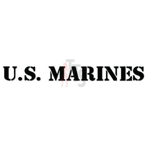 U.S. Marines Military Decal Sticker