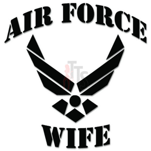 Air Force Wife Emblem Military Decal Sticker