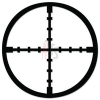 Sniper Scope Crosshair Guns Military Decal Sticker Style 1
