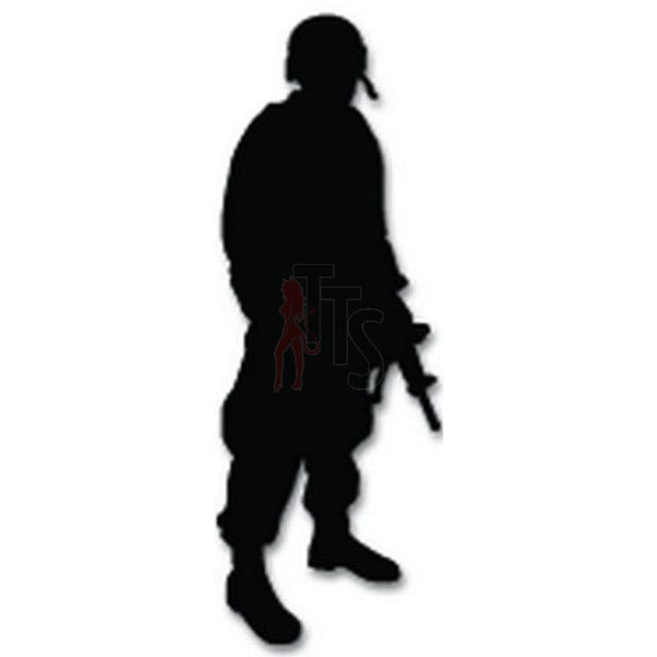 Military Soldier Decal Sticker