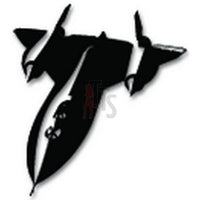 Stealth Fighter Plane Military Decal Sticker