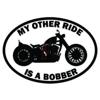 My Other Ride Honda Bobber Motorcycle Decal Sticker