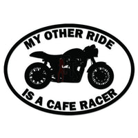 My Other Ride Honda Cafe Racer Motorcycle Decal Sticker