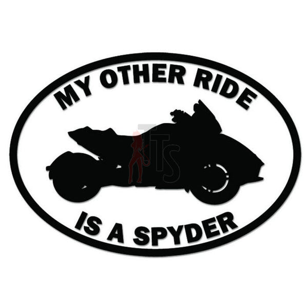 Other Ride Honda Can-Am Spyder Motorcycle Decal Sticker