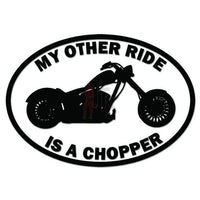 Other Ride Honda Chopper Motorcycle Decal Sticker