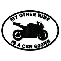 Other Ride Honda CBR600RR Motorcycle Decal Sticker