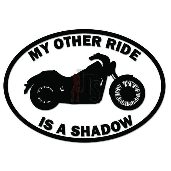 Other Ride Honda Shadow Motorcycle Decal Sticker
