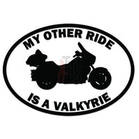 My Other Ride Honda Valkyrie Motorcycle Decal Sticker