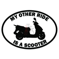 Other Ride Honda Scooter Motorcycle Decal Sticker