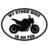 Other Ride Yamaha FZ6 Motorcycle Decal Sticker