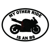 Other Ride Yamaha R6 Motorcycle Decal Sticker
