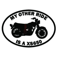 My Other Ride Yamaha XS650 Motorcycle Decal Sticker