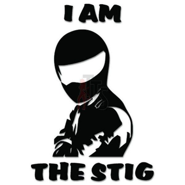 I'm The Stig Decal Sticker Style 1