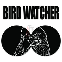 Bird Watcher Eagle Decal Sticker