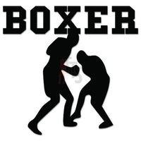 Boxer Boxing Decal Sticker