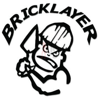 Bricklayer Mason Bricks Decal Sticker Style 1