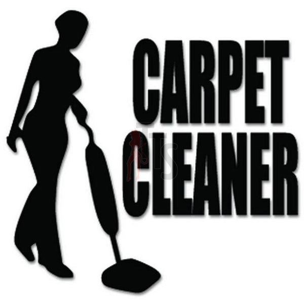 Carpet Cleaner Vacuum Decal Sticker
