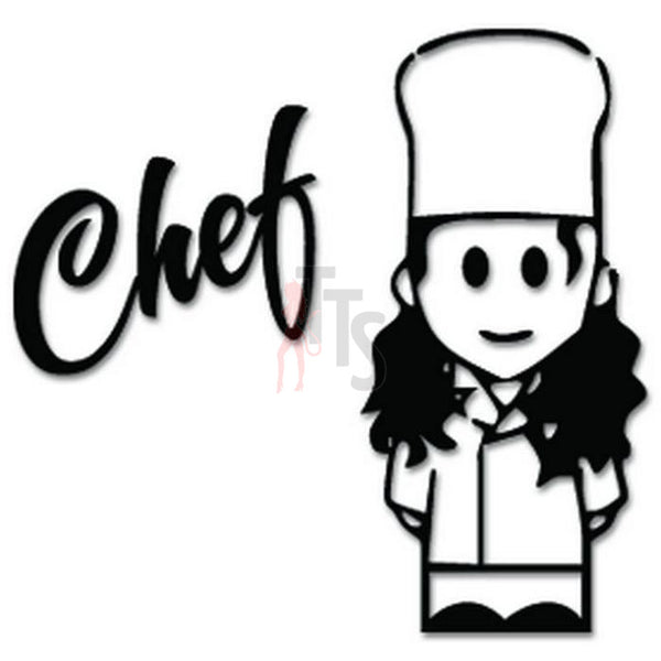 Chef Cook Restaurant Decal Sticker