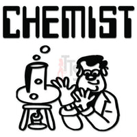 Chemist Chemistry Lab Decal Sticker