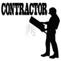 Contractor Builder House Decal Sticker