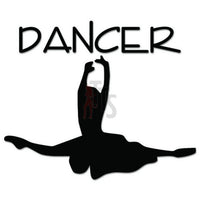 Dancer Ballet Decal Sticker