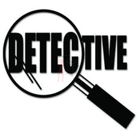 Detective Police Decal Sticker