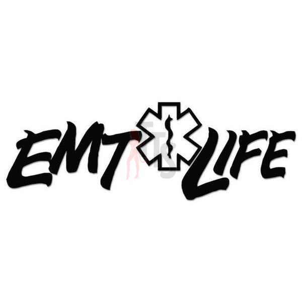 EMT Life Star of Life Decal Sticker