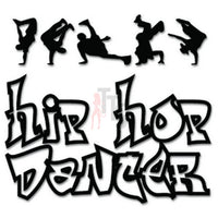 Hip Hop Dancer Decal Sticker