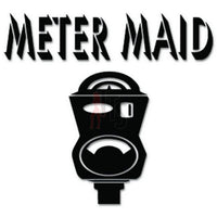 Meter Maid Parking Ticket Decal Sticker