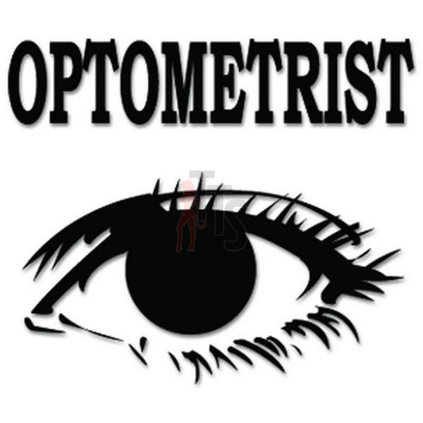 Optometrist Eye Doctor Decal Sticker