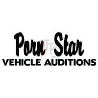 Porn Star Auditions Decal Sticker